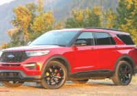 Ford 2020 Suv Luxury ford Fiesta 2020 Redesign