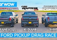 Ford 2020 Velociraptor New Watch Old and New ford F 150 Raptor Drag Race Ranger Raptor