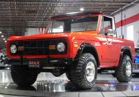 Ford Bronco 2020 January 2019 Best Of 1970 ford Bronco U0339 Maxmotive