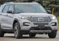 Ford Bronco 2020 January 2019 Luxury 2020 ford Explorer to Debut January 9