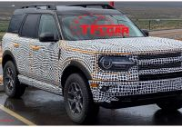 Ford Bronco for Sale Awesome 2021 ford Bronco Sport Spotted During Testing with Different