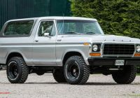 Ford Bronco for Sale Awesome Rare 1978 ford Bronco 4×4 Ready for Sale at British Auction