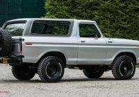 Ford Bronco for Sale Elegant Rare 1978 ford Bronco 4×4 Ready for Sale at British Auction