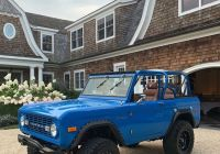 Ford Bronco for Sale Fresh A Rod Got A Blue Vintage ford Bronco for His 44th