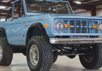 Ford Bronco for Sale Fresh Brand New Classic ford Broncos now On Sale