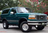 Ford Bronco for Sale Fresh Used 1996 ford Bronco Xlt for Sale $18 995