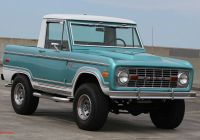 Ford Bronco for Sale Inspirational Stand Out In This Uncut Half Cab 1970 ford Bronco