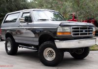 Ford Bronco for Sale Inspirational Used 1995 ford Bronco Xlt for Sale $10 995