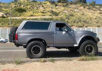 Ford Bronco for Sale Lovely 1992 ford Bronco