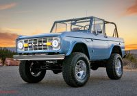 Ford Bronco for Sale Lovely Electric ford Bronco