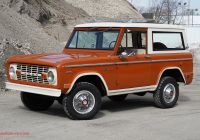 Ford Bronco for Sale New 16k Mile 1969 ford Bronco for Sale On Bat Auctions sold