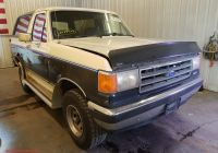 Ford Bronco for Sale New 1989 ford Bronco U10 for Sale at Copart Avon Mn Lot