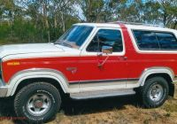 Ford Bronco for Sale Unique 1985 ford Bronco Xlt 4×4 2d Wagon Jcm Just Cars