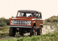 Ford Bronco for Sale Unique Icon Old School Br ford Bronco Review