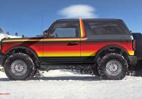 Ford Bronco for Sale Unique Retro ford Bronco Renderings Give New F Roader Vintage