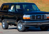 Ford Bronco for Sale Unique This 1995 ford Bronco Xlt with Just 457 Miles is as New as