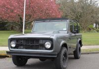 Ford Bronco for Sale Unique Used 1970 ford Bronco for Sale Special Pricing