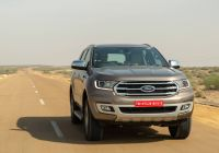 Ford Endeavour 2020 On Road Price Beautiful 2020 ford Endeavour Bsvi First Drive Review Overdrive