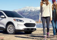 Ford Escape 2019 Versus 2020 New Nova ford Kuga 2020 M G with Images