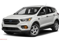 Ford Escape 2020 0 to 60 Best Of 2019 ford Escape Reviews Specs S