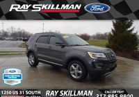 Ford Explorer 2020 Quality issues Best Of Certified Pre Owned 2017 ford Explorer Xlt Suv In Greenwood