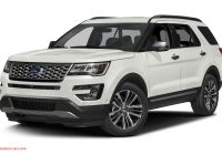 Ford Explorer Reviews 2016 Elegant 2016 ford Explorer Platinum 4dr 4×4 Specs and Prices