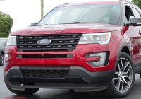 Ford Explorer Sport 401a Package Lovely Pre Owned 2017 ford Explorer Sport with Navigation & 4wd