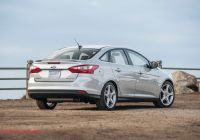 Ford Focus 2014 Awesome 2014 ford Focus Titanium First Test Motor Trend