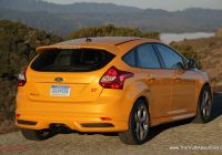 Ford Focus 2014 Awesome Review 2014 ford Focus St with Video the Truth About Cars