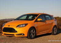 Ford Focus 2014 Unique 2014 ford Focus St Exterior the Truth About Cars