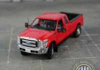 Ford Pickup F250 Fresh Sw1100 Rc Sword ford Pick Up F250 Super Cab and 8´ Flat Bed Red Chrome