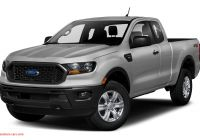 Ford Ranger Xlt Extended Cab Luxury 2020 ford Ranger Xl 4×4 Supercab 6 Ft Box 126 8 In Wb Specs and Prices