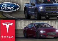 Ford Tesla Car Beautiful ford F150 Raptor Maxed 900 Hp Vs Tesla Model S P85d top