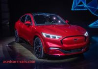 Ford Tesla Car Fresh ford Muscles In On Tesla with Electric Mustang Suv
