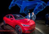 Ford Tesla Challenge Luxury ford Unleashes Electric Mustang Crossover to See Off