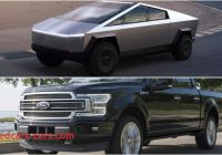 Ford Tesla Truck Best Of Tesla Cybertruck Vs ford F 150 Quick Comparison top Speed