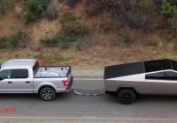 Ford Tesla Tug Of War Awesome Tesla Cybertruck Does Tug Of War with ford F 150