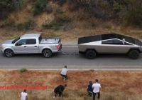 Ford Tesla Tug Of War Best Of Tesla Cybertruck Wins Uphill Tug Of War with ford F 150 In