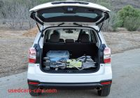 Forester Cargo Space Inspirational Powersteering 2016 Subaru forester Review J D Power Cars