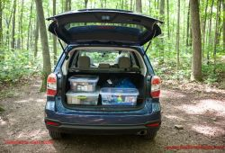 Beautiful forester Cargo Space
