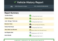 Free Vehicle History Report by Vin Beautiful Vehicle History Report On Vin 4a3ak24f89e Pdf