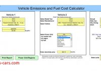 Fuel Cost Calculator Unique ford Offers Fleet Buyers tool to Compare total Emissions