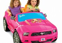 Girls Motorized Car New Power Wheels Barbie ford Mustang toys Games