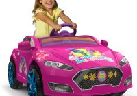 Girls Ride On Car Beautiful Trolls 6v Speed Electric Battery Powered Coupe Ride On Walmart