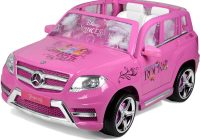 Girls Ride On Car Luxury Disney Princess Mercedes 12v Ride On Kids Car Pink Girls toys New