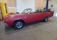 Graveyard Carz Inventory for Sale Best Of 1968 Dodge Dart Gts 340 Automatic Convertible Numbers