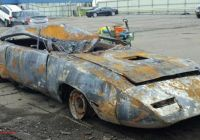 Graveyard Carz Used Cars for Sale Best Of Burned and Busted 1970 Plymouth Superbird Could Sell for Big