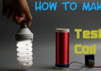 Homemade Tesla Coil Lovely How to Make Tesla Coil without Transistor and Resistor