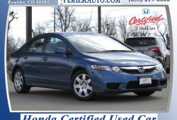 New Honda Certified Used Cars