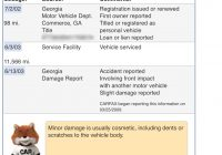 """How Do Accidents Get Reported to Carfax Awesome 2002 C5 Z06 Carfax Report with """"minor Damage """" Corvetteforum"""